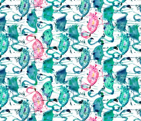 Flamingo-repeat-teal-smaller-scale-rotated_shop_preview