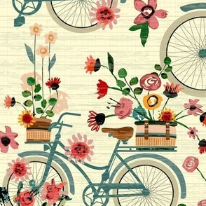 Ride To The Flower Market