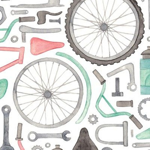 Bike Parts, Cycling Pattern!
