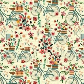 Ride To The Flower Market-(mini version)