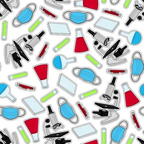 Cute Laboratory Pattern
