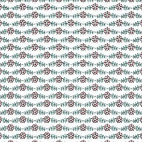 ditsy flowers // mint // little matryoshka collection
