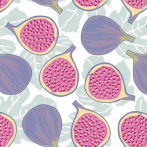 purple figs and leaves