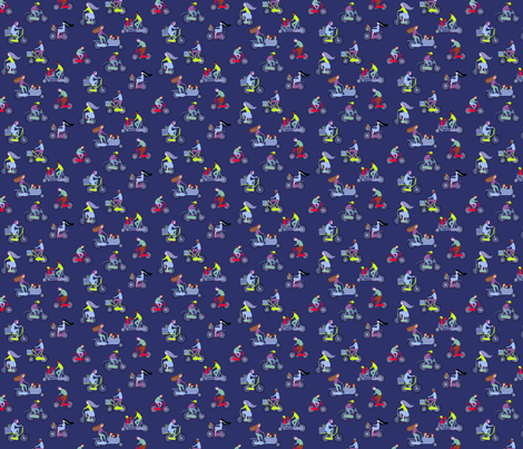 dutchbikes fabric by hanneke_supply on Spoonflower - custom fabric