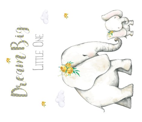 R42-x36-dream-big-little-one-yellow-floral-elephant_shop_preview