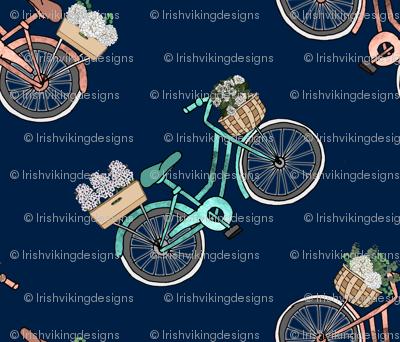 Bon Jour Botanical Baskets on Bicycles