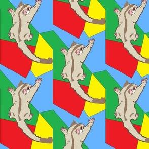 Cremino Sugar Glider on Primaries/Autism Colors