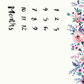 Victoria Floral-Months-42in