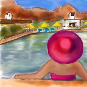 La Quinta Pool Girl