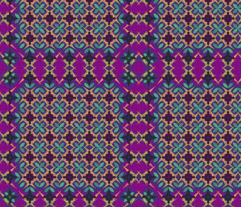 Moroccan Tiles fabric by studioxtine on Spoonflower - custom fabric