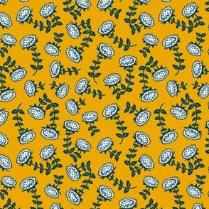 sunflowers // yellow // little matryoshka collection