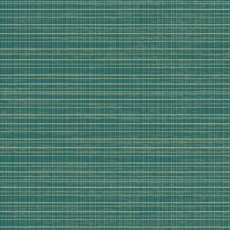 Tiny Teal Plaid fabric by sarah_treu on Spoonflower - custom fabric