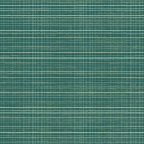 Tiny Teal Plaid
