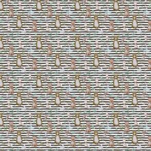 """1.5"""" Hello Forest Animals - Dark Tan Stripes"""