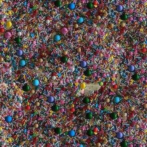 Sprinkles in Rainbow