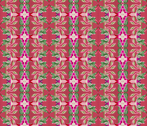 16eme siecle 155 fabric by hypersphere on Spoonflower - custom fabric