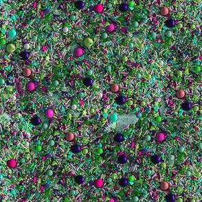 Sprinkles in Green