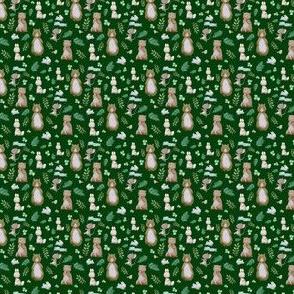 "1.5"" Hello Forest Animals - Hunter Green"