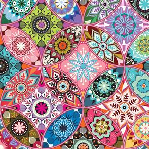 Moroccan bazaar | pink
