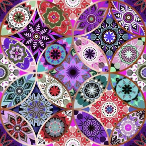 Moroccan bazaar | purple