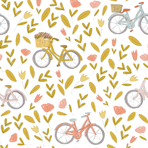 Floral Delivery fabric by montgomeryfest on Spoonflower - custom fabric