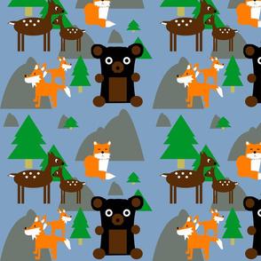 woodland animals 2