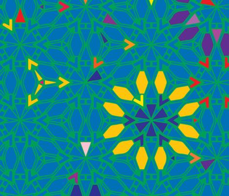 Changing gears fabric by kukileaf on Spoonflower - custom fabric