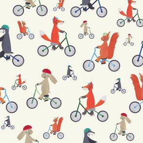 Woodland Bicycle Buddies