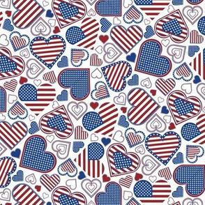 Patriotic Heart (sm)