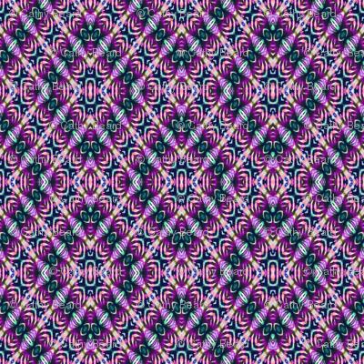 Magic Purple Diamond Tie Dye
