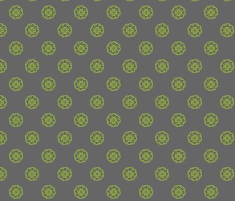 Celtic Leaves Circle fabric by thegigitree on Spoonflower - custom fabric
