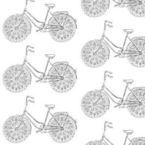 Freestyle Bike (charcoal sketch)