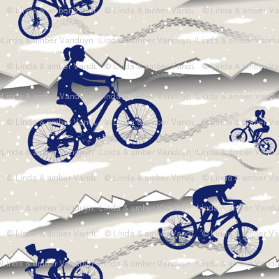 Riding through the Mountains