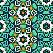 Zillij Mosaic Pattern #3