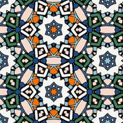 Zillij Mosaic Pattern #4