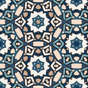 Zillij Mosaic Pattern #6