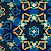 Zillij Mosaic Pattern #9