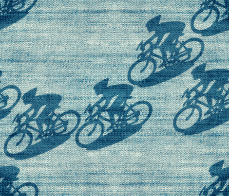 speed on two wheels  fabric by chicca_besso on Spoonflower - custom fabric