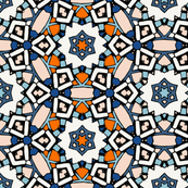 Zillij Mosaic Pattern #10