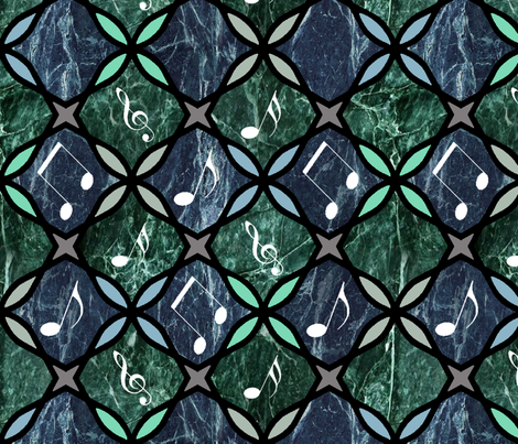 More Rockin' (Moroccan) My Marbles fabric by hanging_by_a_string on Spoonflower - custom fabric