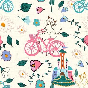 kitten bike