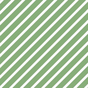 Petrol Mint Jungle Stripes