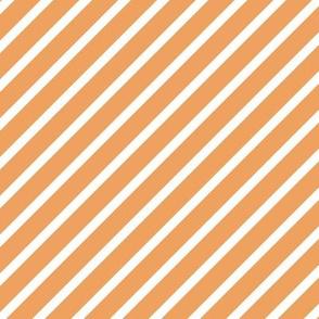 Peach Jungle Stripes