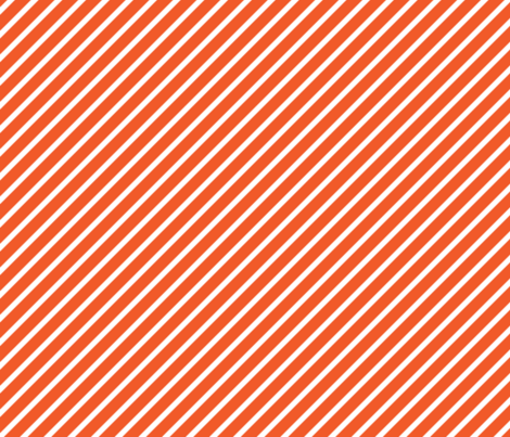 Coral Red Jungle Stripes fabric by studio_amelie on Spoonflower - custom fabric