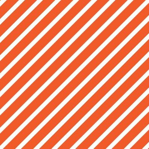 Coral Red Jungle Stripes
