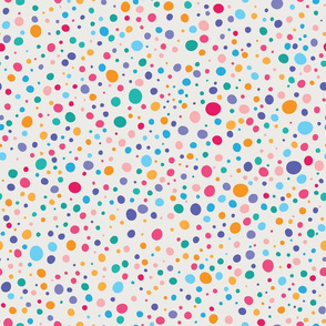 Colorful Wonky Dots
