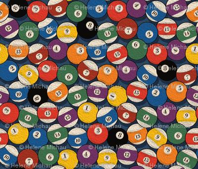 Billiard bowls