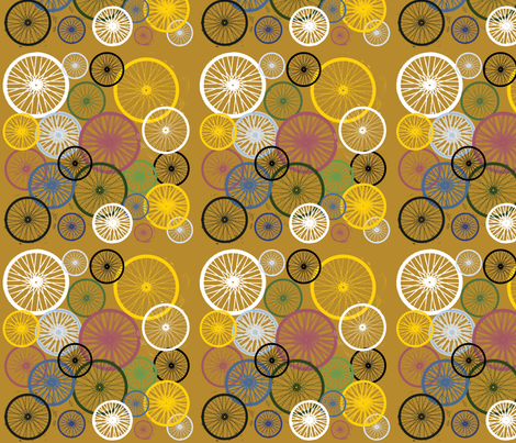 Different spokes..... fabric by tracebydesignnola on Spoonflower - custom fabric