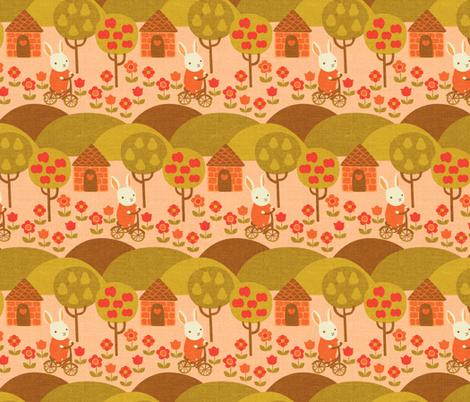 Autumn Ride fabric by ceciliamok on Spoonflower - custom fabric