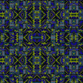 Mosaic in Blue